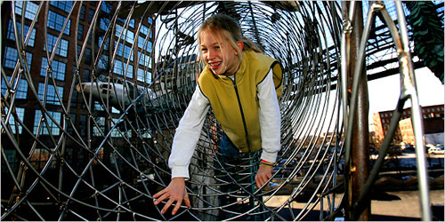St Louis MO - City Museum Tubes