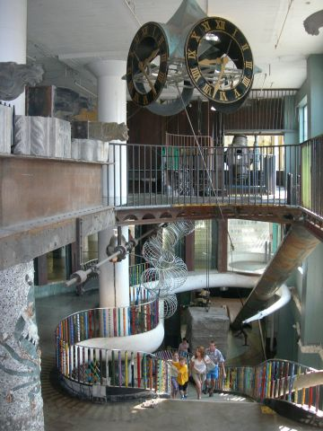 St Louis MO - City Museum Stairs