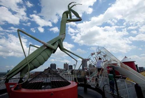 St Louis MO - City Museum Mantis